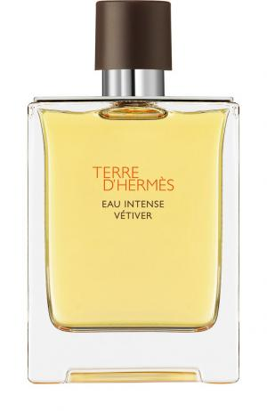 Парфюмерная вода Terre d Eau Intense Vétiver Hermès. Цвет: бесцветный