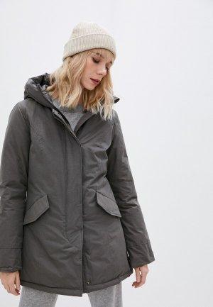 Куртка утепленная Canadian. Цвет: коричневый