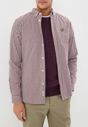 Рубашка Lyle & Scott. Цвет: бордовый