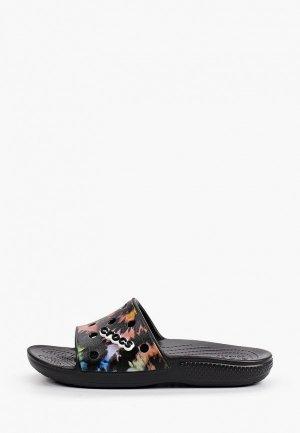 Сланцы Crocs. Цвет: разноцветный