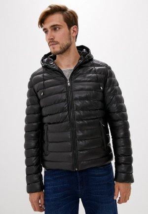 Куртка утепленная Serge Pariente. Цвет: черный