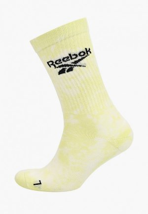 Носки Reebok Classic. Цвет: желтый