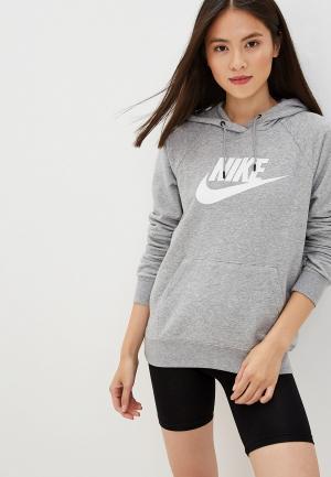 Худи Nike. Цвет: серый
