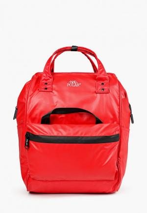 Рюкзак Polar. Цвет: красный