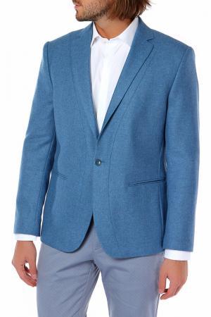 Пиджак MONDIGO. Цвет: светло-джинсовый