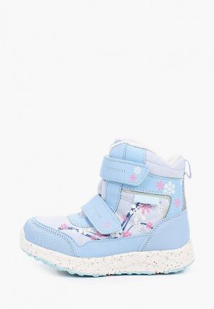 Ботинки Котофей. Цвет: голубой