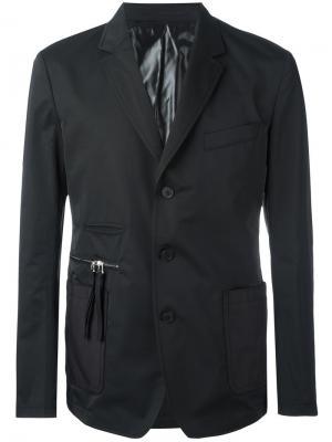 Блейзер с карманами Givenchy. Цвет: чёрный