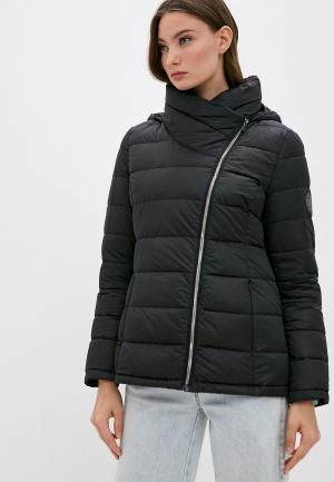 Пуховик DKNY. Цвет: черный