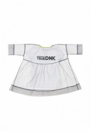 Платье Dnk. Цвет: белый