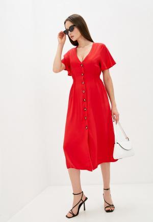 Платье Sweewe. Цвет: красный