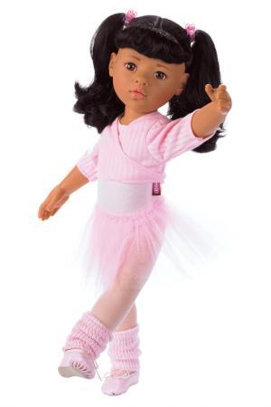Кукла Ханна балерина Gotz. Цвет: бордовый