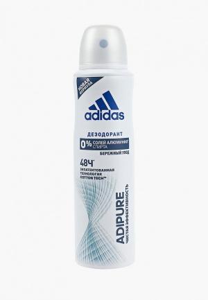 Дезодорант adidas. Цвет: белый