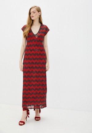 Платье M Missoni. Цвет: красный