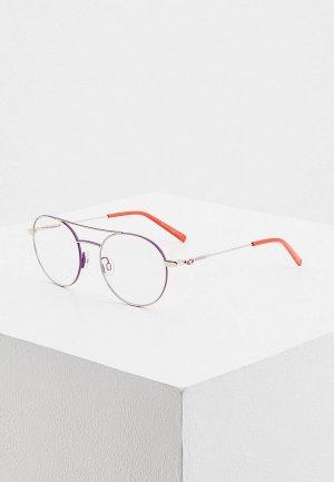 Очки солнцезащитные M Missoni. Цвет: фиолетовый