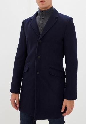 Пальто Only & Sons. Цвет: синий