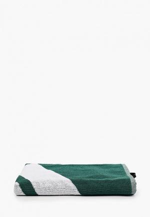 Полотенце adidas. Цвет: зеленый