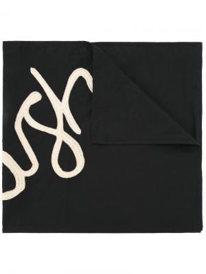 Платок-бандана Our Legacy. Цвет: чёрный