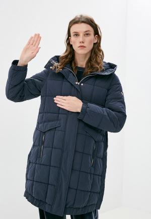 Куртка утепленная EA7. Цвет: синий