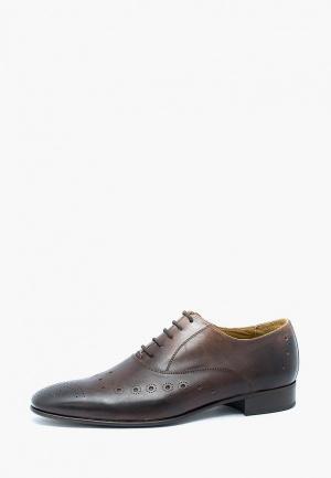 Туфли Max Milani. Цвет: коричневый