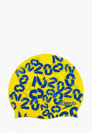 Шапочка для плавания Speedo. Цвет: желтый