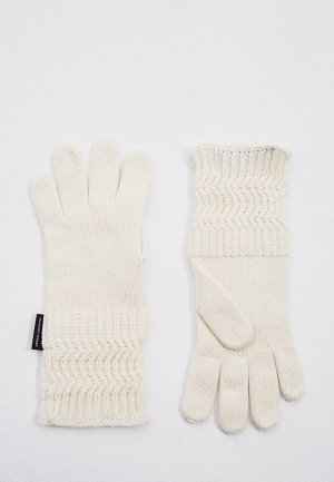Перчатки Armani Exchange. Цвет: белый