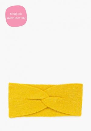Повязка Tom Tailor. Цвет: желтый