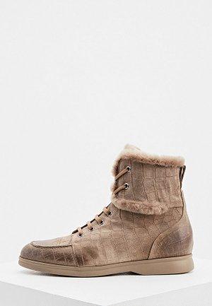 Ботинки Nando Muzi. Цвет: бежевый