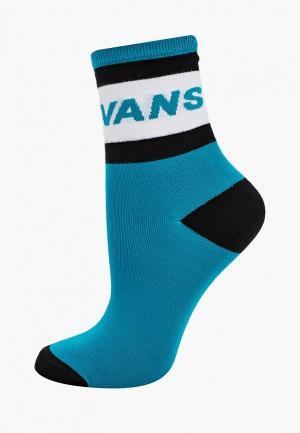 Носки Vans. Цвет: бирюзовый