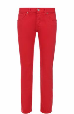 Джинсы прямого кроя 2 Men Jeans. Цвет: красный