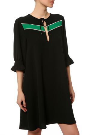 Платье Anna Rita N. Цвет: черный