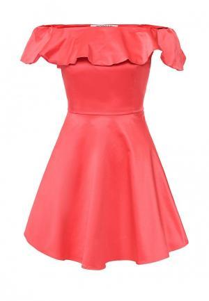 Платье Morgan. Цвет: розовый