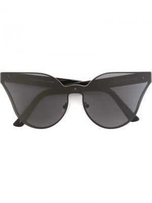 Солнцезащитные очки Lensfighter House Of Holland. Цвет: чёрный