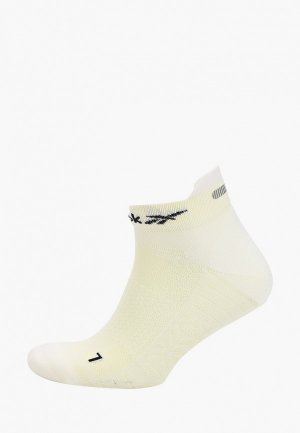 Носки Reebok. Цвет: желтый