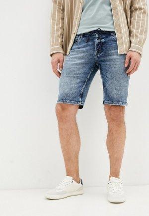 Шорты джинсовые J. Hart & Bros. Цвет: синий
