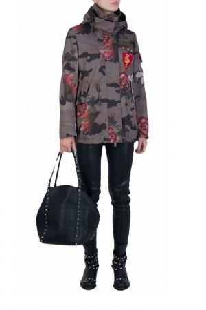 Куртка Marco Del Forte. Цвет: разноцветный