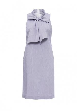 Платье Banana Republic. Цвет: голубой