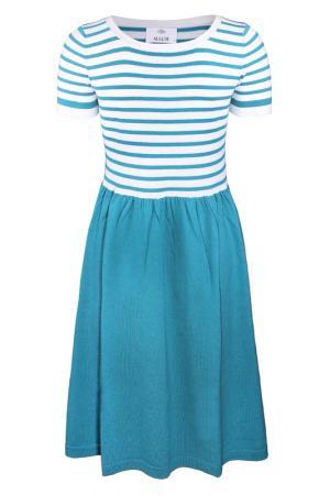 Платье Allude. Цвет: голубой
