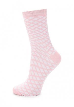 Носки Baon. Цвет: розовый