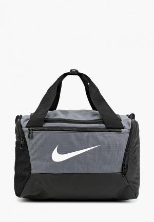 Сумка спортивная Nike. Цвет: разноцветный