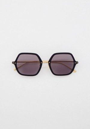 Очки солнцезащитные Isabel Marant. Цвет: черный