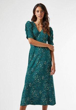 Платье Dorothy Perkins. Цвет: бирюзовый