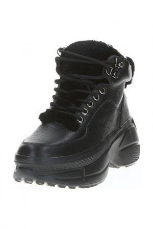 Ботинки LIBELLEN. Цвет: черный