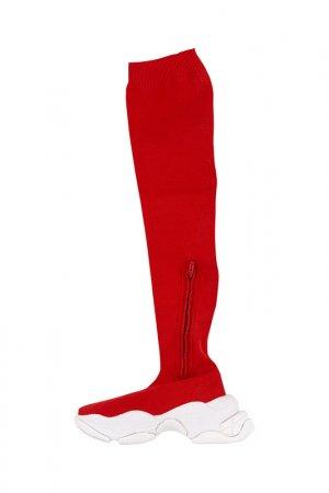 Сникерсы JEFFREY CAMPBELL. Цвет: красный