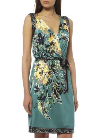 Платье ELIE TAHARI. Цвет: зеленый