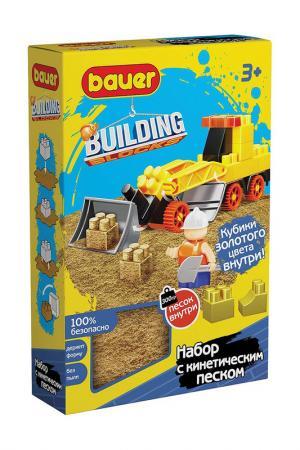 Конструктор Стройка с песком BAUER. Цвет: желтый