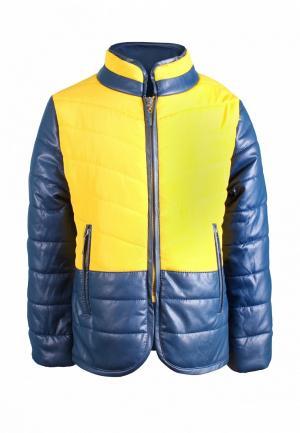 Куртка утепленная Irby Style. Цвет: разноцветный