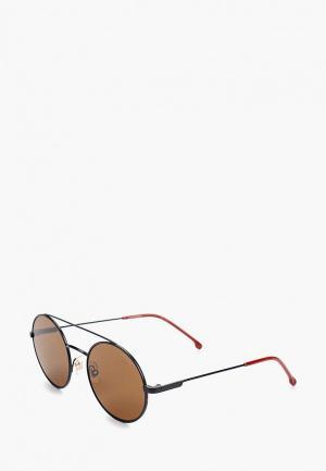 Очки солнцезащитные Carrera. Цвет: коричневый
