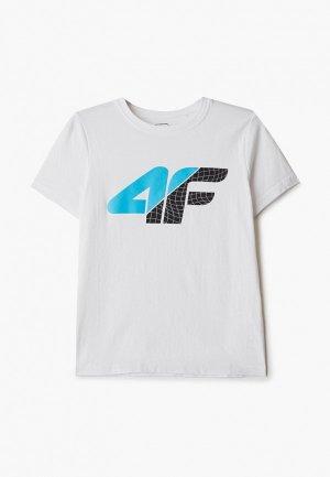 Футболка 4F. Цвет: белый