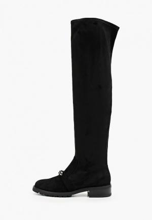 Ботфорты Grand Style. Цвет: черный