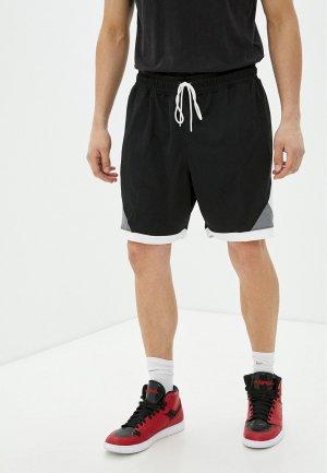 Шорты спортивные Jordan. Цвет: черный